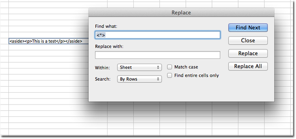Remove HTML from Excel Files   Bruce Elgort