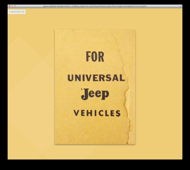 Adaptive Backgrounds Screenshot