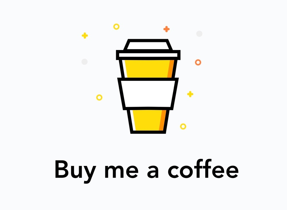 Buy me a coffee!